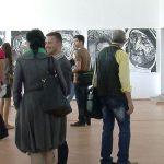 PICTURA – Creatiile studentilor de la Arte Plastice, expuse la atelierul studentesc de la Galeria de Arta a Centrului Universitar Nord din Baia Mare (VIDEO)