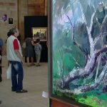 ARTA – Lucrarile realizate in cadrul Taberei de Peisagistica din Baia Sprie expuse in holul Teatrului Municipal (VIDEO)