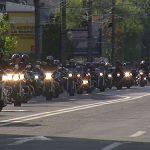MOTO – Motociclistii si-au scos motoarele pe strazile din Baia Mare pentru ultima parada oficiala din acest sezon (VIDEO)