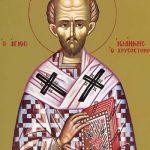 RELIGIE – Unul dintre cei mai vestiti si luminati dascali, Sfantul Ioan Gura de Aur, este cinstit in 13 noiembrie