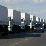 CONVOI UMANITAR – Primele camioane rusesti trimise in Ucraina s-au intors deja in Rusia