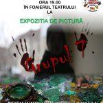 """LUNEA ARTELOR – Expozitie de pictura """"Grupul 7"""" la Teatrul Municipal"""
