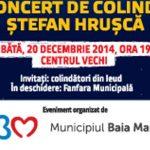 IARNA BAIMAREANA – Stefan Hrusca va colinda sambata, 20 decembrie, in Centrul Vechi