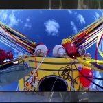 TEMERARI – Un american si un rus au doborat recordurile de distanta si durata pentru un zbor cu balonul