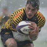 """RUGBY – """"Zimbrul"""" Ionut Botezatu, cele mai multe eseuri pentru Lupi in European Rugby Challenge Cup"""