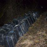 CONTRABANDA – Focuri de arma si 20.000 de pachete cu tigari ucrainene confiscate de politistii la frontiera de nord (VIDEO)