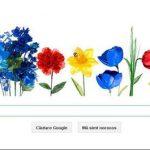 DOODLE – GOOGLE marcheaza echinoctiul de primavara printr-un logo special