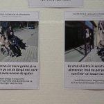 VERNISAJ – Expozitie cu rol de sensibilizare asupra problemelor cu care se confrunta persoanele cu dizabilitati (VIDEO)