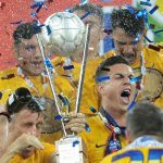 FOTBAL – Steaua, din nou campioana Romaniei, dupa ce Otelul a invins-o pe ASA Tg. Mures