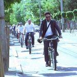 PARADA – Vicepresedintele Consiliului Regional din Jasz Nagykun Szolnok a vizitat orasul Baia Mare pe bicicleta (VIDEO)