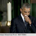 PREZENTI – Familiile Obama si Clinton, alaturi de Joe Biden la funeraliile fiului sau Beau