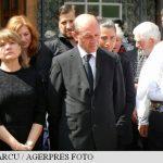 FUNERALII – Cateva sute de localnici au participat la inmormantarea socrului lui Traian Basescu