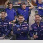 MISIUNE – Cei trei astronauti au ajuns pe ISS dupa lansarea cu succes a navetei Soyuz