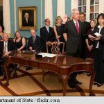 NUMIRE – Noul ambasador al SUA in Romania a depus juramantul intr-o ceremonie la Departamentul de Stat
