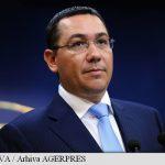 OPINIE – Ponta: Atata timp cat educatia va fi doar un obiect de disputa politica, cu siguranta nu vom progresa