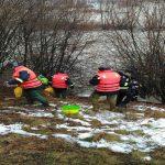 Pompierii in luptă cu zăpoarele