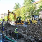 Lucrări de înlocuire a rețelei de apă și de canalizare pluvială, pe strada Culturii din Baia Mare