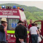 Doi răniţi în urmă unui accident petrecut la ieşire din Ocna Şugatag