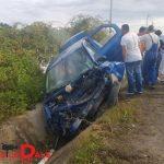 Doi răniți, în urma unui accident rutier la intrarea în Satulung