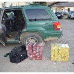 Maramureşean fără permis prins la volanul unei maşini pline cu ţigări de contrabandă