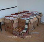 Mii de pachete cu ţigări de contrabandă confiscate de poliţiştii de frontieră
