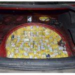 O nouă captură a poliţiştilor de frontieră. 20.000 de pachete cu ţigări confiscate de la contrabandişti