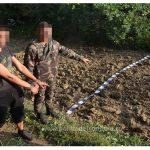 Contrabandişti reţinuţi cu focuri de armă