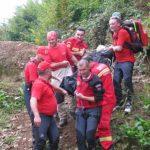 Actualizare: Parapantistul căzut  la Borşa  şi-a pierdut viata  / Accident teribil ! Parapantist căzut în munţii Rodnei