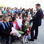 Alături de elevi ! Primarul Cătălin Cherecheş în mijlocul elevilor la începutul anului şcolar