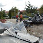 Au cerut ajutor de la Guvern! Autorităţile judeţene vor bani pentru refacerea instituţiilor afectate de furtună