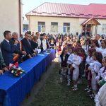 Sala de sport din Petrova a fost inaugurată în prezența președintelui CJ Maramureș, Gabriel Zetea și a ministrului  Liviu Marian Pop