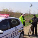 Sancţiuni în trafic ! O treime dintre amenzi au fost date bicicliştilor