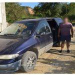 Maşină plină cu ţigări de contrabandă oprită de poliţiştii de frontieră
