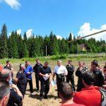 Instrucţie la înălţime! Jandarmii maramureşeni s-au specializat în căutarea şi salvarea persoanelor rătăcite în munţi