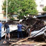 Baimărenii afectaţi de furtună vor putea să-şi depună dosarele de daune la primăria municipiului Baia Mare
