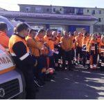 Actualizare: Angajaţii de la Ambulanţă au protestat în faţă unităţii în care lucrează / Încep protestele în sănătate