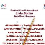 Începe  a VII a ediţie a Festivalului Internaţional Coral Liviu Borlan 2017