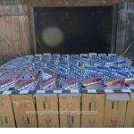 Percheziţii la contrabandiştii de ţigări ! Vezi unde şi ce cantitate de ţigări au găsit poliţiştii de frontieră (video)