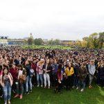 10.000 de tineri pe Campul Tineretului pentru susţinerea candidaturii municipiului Baia Mare la titlul de Capitală a Tineretului 2018