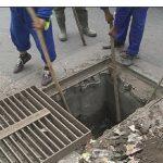 Acțiune de curățare și spălare a sistemului de canalizare în cartierele Firiza, Ferneziu, Săsar și Valea Borcutului