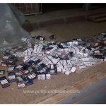 Aproximativ 25.000 de pachete cu ţigări de contrabandă confiscate la frontieră