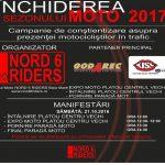 Paradă moto pe străzile din Baia Mare ! Motocicliştii de la Nord 6 Riders încheie sezonul 2017
