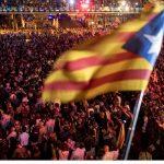 Manifestație de proporţii la Barcelona!