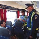 Controale amănunțite în trenurile de călători ! Vezi ce au descoperit polițiștii de la Transporturi
