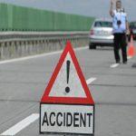 Ciocnire în lanț ! Patru autoturisme avariate și o persoană rănită în urmă unui accident rutier