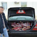 Peste 4.000 de pachete cu țigări de contrabandă confiscate la frontiera de nord