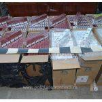 Peste 11.000 pachete țigări confiscate la frontiera de nord