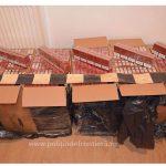 Țigări în valoare de peste 52.000 lei, confiscate la frontiera de nord