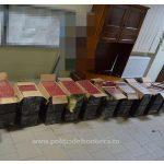 Peste 7.000 pachete țigări confiscate la frontiera de nord
