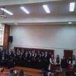 VIDEO | Concert de colinde în Amfiteatrul Facultății de Litere